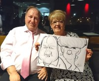 Caricacature Artists Bolton Wedding Artists